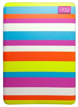"Чехол-сумка Uniq для Macbook Air 11"" Streak cherry PU (Цвет: Разноцветный) - фото 16892"