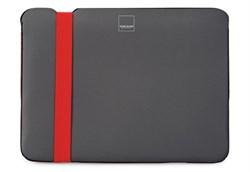 "Чехол-сумка Acme Sleeve Skinny для MacBook 12"" (Цвет: Серый/Оранжевый) - фото 16938"