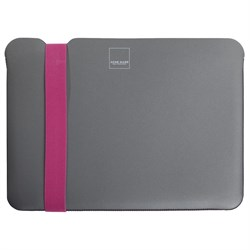 "Чехол-сумка Acme Sleeve Skinny для MacBook Pro 15"" (Цвет: Серый/Розовый) - фото 16950"