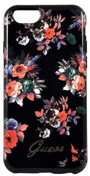 Чехол-накладка Guess для iPhone 6/6S BLOSSOM Hard TPU Black (Цвет: Чёрный) - фото 17039