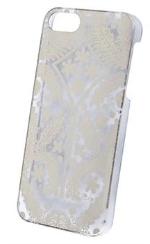 Чехол-накладка Lacroix для iPhone 5S/SE Paseo transparent Hard Gold (Цвет: Золотой) - фото 17127