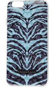 Чехол-накладка Lacroix для iPhone 6/6S PANTIGRE Hard Turquoise (Цвет: Бирюзовый) - фото 17191