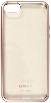 Чехол-накладка Uniq для iPhone SE/5S Glacier Frost Rose gold (Цвет: Розовое золото) - фото 17233