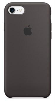Оригинальный силиконовый чехол-накладка Apple для iPhone 7/8, цвет «тёмное какао»  (MMX22ZM/A) - фото 17326