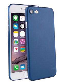 Чехол-накладка Uniq для iPhone 7/8 Bodycon Navy blue (Цвет: Голубой) - фото 17407