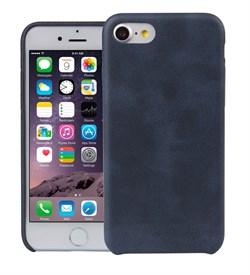 Чехол-накладка Uniq для iPhone 7/8 Outfitter Blue (vintage) (Цвет: Синий) - фото 17449