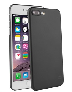 Чехол-накладка Uniq для iPhone 7 Plus/8 Plus  Bodycon Black (Цвет: Чёрный) - фото 17453