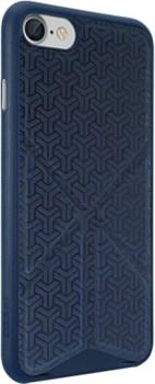 "Чехол-накладка Ozaki O!coat 0.3+Totem Versatile для iPhone 7/8, цвет ""тёмно-синий"" (OC777DB) - фото 17481"