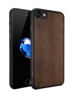 Чехол-накладка Ozaki O!coat 0.3 + Wood для iPhone 7/8 (Цвет: Тёмно-коричневый) - фото 17496