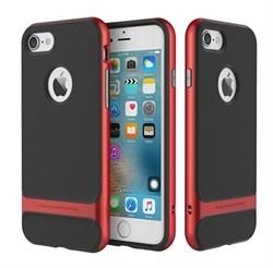 Чехол-накладка Rock Royce Series для iPhone 7 Plus/8 Plus  (Цвет: Красный) - фото 17706