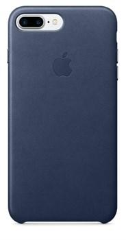 Оригинальный кожаный чехол-накладка Apple для iPhone 7 Plus/8 Plus, цвет «тёмно-синий» (MMYG2ZM/A) - фото 17791