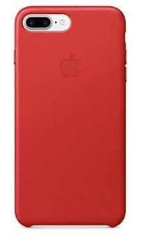 Оригинальный кожаный чехол-накладка Apple для iPhone 7 Plus/8 Plus, цвет «(PRODUCT)RED» (MMYK2ZM/A) - фото 17807