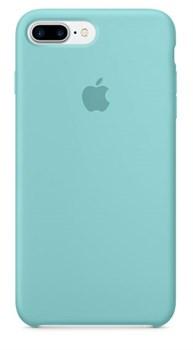Оригинальный силиконовый чехол-накладка Apple для iPhone 7 Plus/8 Plus, цвет «синее море»  (MMQY2ZM/A) - фото 17829