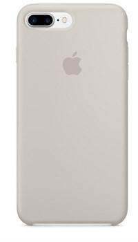 Оригинальный силиконовый чехол-накладка Apple для iPhone 7 Plus/8 Plus, цвет «бежевый цвет»  (MMQW2ZM/A) - фото 17843