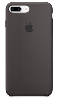 Оригинальный силиконовый чехол-накладка Apple для iPhone 7 Plus/8 Plus, цвет «тёмное какао»  (MMT12ZM/A) - фото 17857