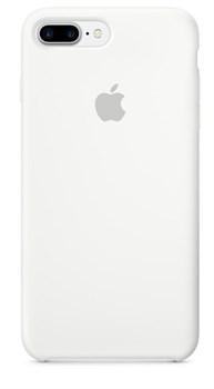 Оригинальный силиконовый чехол-накладка Apple для iPhone 7 Plus/8 Plus, цвет «белый цвет»  (MMQT2ZM/A) - фото 17871
