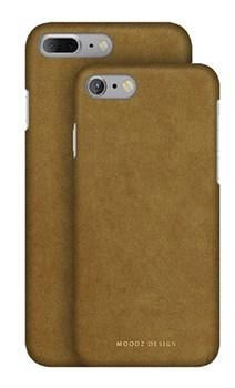 Чехол-накладка Moodz для iPhone 7/8 Alcantara Hard Camel , цвет «бежевый» ( MZ656070 ) - фото 17928