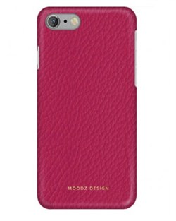 Чехол-накладка Moodz для iPhone 7/8 Floter leather Hard Ciciamino ,цвет «розовый» (MZ901020) - фото 17945