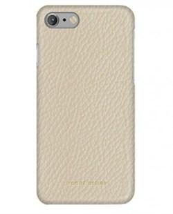 Чехол-накладка Moodz для iPhone 7/8 Floter leather Hard Eggshel ,цвет «белый» (MZ901019) - фото 17947