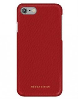 Чехол-накладка Moodz для iPhone 7/8 Floter leather Hard Rossa ,цвет «красный» (MZ901016) - фото 17961