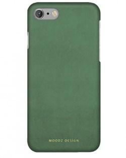 Чехол-накладка Moodz для iPhone 7/8 Nubuck Hard Dublin ,цвет «зеленый» (MZ656077) - фото 17966