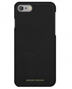 Чехол-накладка Moodz для iPhone 7/8 Nubuck Hard Notte, цвет «черный» (MZ656075) - фото 17971