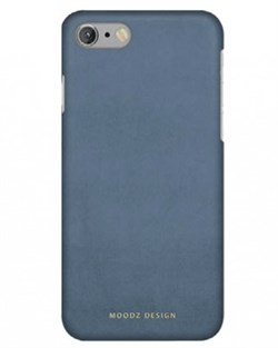 Чехол-накладка Moodz для iPhone 7/8 Nubuck Hard Rossa, цвет «голубой» (MZ656074) - фото 17975