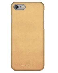 Чехол-накладка Moodz для iPhone 7/8 Nubuck Hard Sand , цвет «бежевый» (MZ656072) - фото 17980
