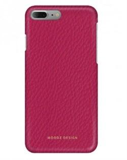 Чехол-накладка Moodz для iPhone 7 Plus/8 Plus  Floter leather Hard Ciciamino, цвет «розовый» (MZ901030) - фото 17995