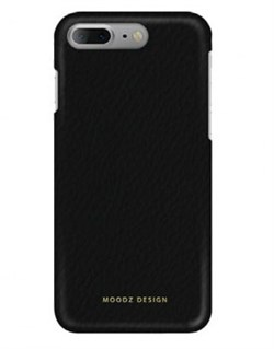 Чехол-накладка Moodz для iPhone 7 Plus/8 Plus  Floter leather Hard Notte, цвет «черный» (MZ901031) - фото 17997