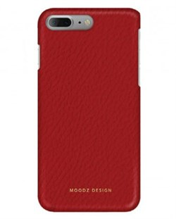 Чехол-накладка Moodz для iPhone 7 Plus/8 Plus  Floter leather Hard Rossa, цвет «красный» (MZ901026) - фото 18000