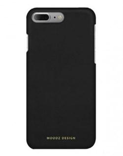 Чехол-накладка Moodz для iPhone 7 Plus/8 Plus  Nubuck Hard Notte, цвет «черный» (MZ655727) - фото 18002