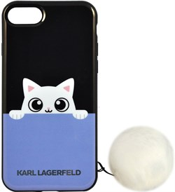 Чехол-накладка Lagerfeld iPhone 7/8 K-Peek A Boo Hard TPU, цвет «черный» (KLHCP7PABBL) - фото 18099