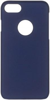 Чехол-накладка iCover iPhone 7/8 Rubber, цвет «синий» (IP7-RF-NV) - фото 18105