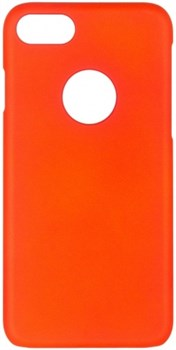 Чехол-накладка iCover iPhone 7/8 Rubber, цвет «оранжевый» (IP7-RF-OR) - фото 18111