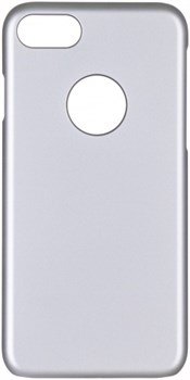 Чехол-накладка iCover iPhone 7/8 Rubber, цвет «серебристый» (IP7-RF-SL) - фото 18135