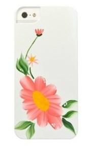 Чехол-накладка iCover для iPhone SE/5/5S Flower SG05 ручная роспись - фото 18157