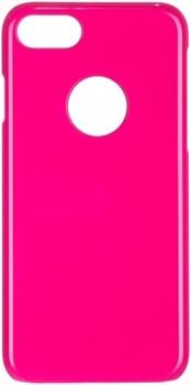 Чехол-накладка iCover iPhone 7/8 Glossy, цвет «розовый» (IP7-G-PK) - фото 18174