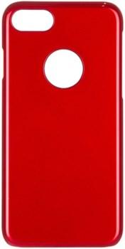 Чехол-накладка iCover iPhone 7/8 Glossy, цвет «красный» (IP7-G-RD) - фото 18186
