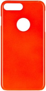 Чехол-накладка iCover iPhone 7 Plus/8 Plus  Glossy, цвет «оранжевый» (IP7P-G-OR) - фото 18225
