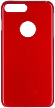 Чехол-накладка iCover iPhone 7 Plus/8 Plus  Glossy, цвет «красный» (IP7P-G-RD) - фото 18243