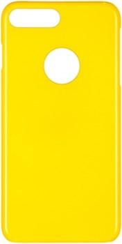 Чехол-накладка iCover iPhone 7 Plus/8 Plus  Glossy, цвет «желтый» (IP7P-G-YL) - фото 18262