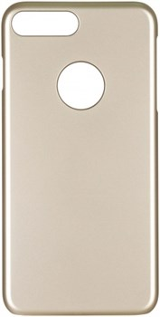 Чехол-накладка iCover iPhone 7 Plus/8 Plus  Rubber, цвет «золотой» (IP7P-RF-GD) - фото 18280