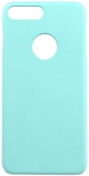 Чехол-накладка iCover iPhone 7 Plus/8 Plus  Rubber, цвет «голубой» (IP7P-RF-NV) - фото 18285