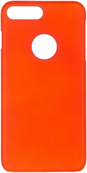 Чехол-накладка iCover iPhone 7 Plus/8 Plus  Rubber, цвет «оранжевый» (IP7P-RF-OR) - фото 18291