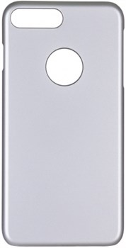 Чехол-накладка iCover iPhone 7 Plus/8 Plus  Rubber, цвет «серебристый» (IP7P-RF-SL) - фото 18315