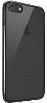 Чехол-накладка Ozaki O!coat Crystal+ для iPhone 7/8 «Цвет: Прозрачный-черный» (oc739bk) - фото 18364