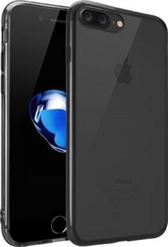 Чехол-накладка Ozaki O!coat Crystal+ для iPhone 7 Plus/8 Plus  «Цвет: Прозрачный/черный» (OC747BK) - фото 18469