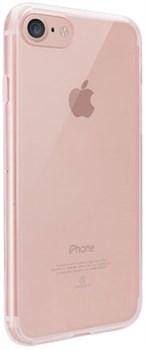 Чехол-накладка Ozaki O!coat Crystal+ для iPhone 7/8 «Цвет: Прозрачный-розовый» (OC739PK) - фото 18511