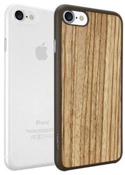 Чехол-накладка Ozaki O!coat 0.3+Bumper для iPhone 7/8,   «Цвет: Ozaki Jelly: прозрачный/Ozaki Wood: бежево-коричневый» (OC721ZC) - фото 18522
